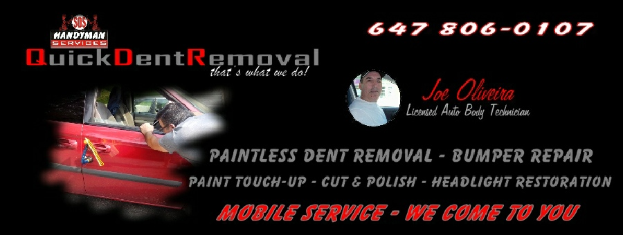 Quick Dent Removal - that's what we do!